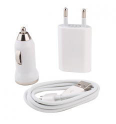3-in-1 iPhone 4 Oplader