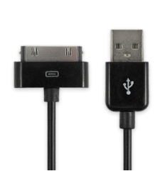 Data cable - Samsung Galaxy Tab 2 Cable Black 2 meter
