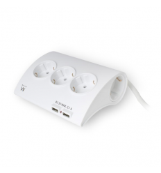 Desktop Multi power socket 5Schuko 2USB
