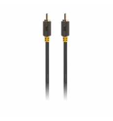 Composiet 75 ohm video kabel RCA male - male 2m