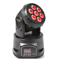 Mini Led Moving Head Wash 12-Kanaals DMX